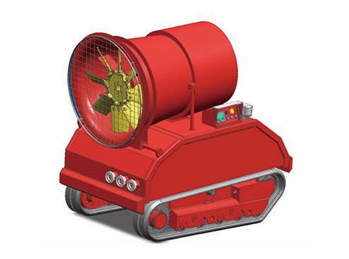 RXR-YM10000D排烟灭火机器人